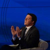 Foto Nicoloro G. 13/11/2016 Milano Trasmissione televisiva su Rai 3 ' Che tempo che fa '. nella foto il premier Matteo Renzi.