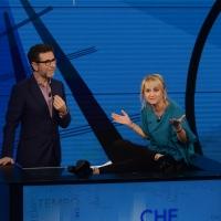Foto Nicoloro G. 13/11/2016 Milano Trasmissione televisiva su Rai 3 ' Che tempo che fa '. nella foto Fabio Fazio e Luciana Littizzetto.