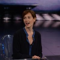Foto Nicoloro G. 13/11/2016 Milano Trasmissione televisiva su Rai 3 ' Che tempo che fa '. nella foto l' attrice Cristiana Capotondi.