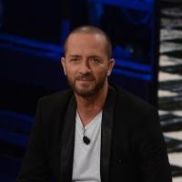 Foto Nicoloro G. 13/11/2016 Milano Trasmissione televisiva su Rai 3 ' Che tempo che fa '. nella foto il cantautore Raf.