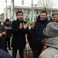 Foto Nicoloro G. 05/01/2019 Ravenna In vista delle primarie del PD l' ex segretario nazionale incontra simpatizzanti e iscritti. nella foto l' ex segretario PD nazionale Maurizio Martina.