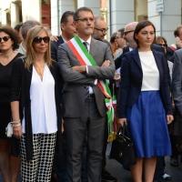 Foto Nicoloro G. 02/08/2016 Bologna, Trentaseiesimo anniversario della strage alla stazione di Bologna. nella foto Il sindaco di Bologna, Valerio Merola.