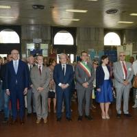 Foto Nicoloro G. 02/08/2016 Bologna, Trentaseiesimo anniversario della strage alla stazione di Bologna. nella foto L'omaggio alla lapide da parte delle Autorità.