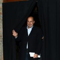 Foto Nicoloro G. 27/11/2018 Ravenna Il PD di Ravenna sceglie Nicola Zingaretti come candidato presidente alle primarie nazionali del PD. nella foto il governatore della regione Lazio Nicola Zingaretti, candidato alle primarie del PD.
