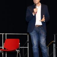 Foto Nicoloro G. 27/11/2018 Ravenna Il PD di Ravenna sceglie Nicola Zingaretti come candidato presidente alle primarie nazionali del PD. nella foto il sindaco di Ravenna Michele de Pascale.