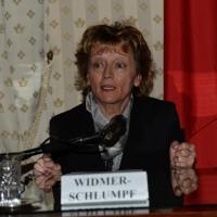 Foto Nicoloro G.   23/02/2015   Milano    Firmato l' accordo sullo scambio d' informazioni tra i ministri di Economia e Finanze di Italia e Svizzera. nella foto il ministro svizzero Eveline Widmer-Schlumpf.