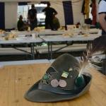 Foto Nicoloro G.   10/05/2019   Milano   Adunata Nazionale degli Alpini per il 100° anniversario della costituzione del Corpo. nella foto l' inconfondibile cappello degli alpini.