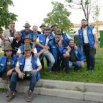 Foto Nicoloro G.   10/05/2019   Milano   Adunata Nazionale degli Alpini per il 100° anniversario della costituzione del Corpo. nella foto alpini provenienti da tutte le regioni per partecipare all' evento.