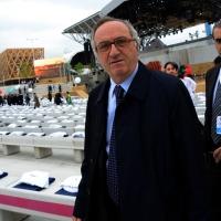Foto Nicoloro G.   01/05/2015  Milano   Al via l' Expo Milano 2015, l' Esposizione Internazionale che l'Italia ospiterà dal primo Maggio al 31 Ottobre 2015. nella foto il magistrato Edmondo Bruti Liberati.