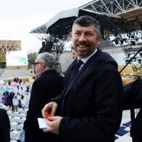 Foto Nicoloro G.   01/05/2015  Milano   Al via l' Expo Milano 2015, l' Esposizione Internazionale che l'Italia ospiterà dal primo Maggio al 31 Ottobre 2015. nella foto l' onorevole Ivan Scalfarotto.