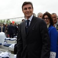 Foto Nicoloro G.   01/05/2015  Milano   Al via l' Expo Milano 2015, l' Esposizione Internazionale che l'Italia ospiterà dal primo Maggio al 31 Ottobre 2015. nella foto il campione di calcio Javier Zanetti.