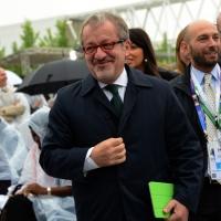 Foto Nicoloro G.   01/05/2015  Milano   Al via l' Expo Milano 2015, l' Esposizione Internazionale che l'Italia ospiterà dal primo Maggio al 31 Ottobre 2015. nella foto Roberto Maroni.