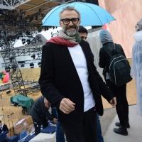 Foto Nicoloro G.   01/05/2015  Milano   Al via l' Expo Milano 2015, l' Esposizione Internazionale che l'Italia ospiterà dal primo Maggio al 31 Ottobre 2015. nella foto lo chef pluristellato Massimo Bottura.