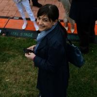 Foto Nicoloro G.   01/05/2015  Milano   Al via l' Expo Milano 2015, l' Esposizione Internazionale che l'Italia ospiterà dal primo Maggio al 31 Ottobre 2015. nella foto il governatore della regione Friuli-Venezia Giulia Debora Serracchiani.