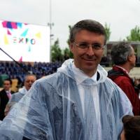 Foto Nicoloro G.   01/05/2015  Milano   Al via l' Expo Milano 2015, l' Esposizione Internazionale che l'Italia ospiterà dal primo Maggio al 31 Ottobre 2015. nella foto il magistrato Raffaele Cantone.