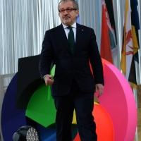 Foto Nicoloro G.   01/05/2015  Milano   Al via l' Expo Milano 2015, l' Esposizione Internazionale che l'Italia ospiterà dal primo Maggio al 31 Ottobre 2015. nella foto il governatore della Lombardia Roberto Maroni.