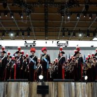 Foto Nicoloro G.   01/05/2015  Milano   Al via l' Expo Milano 2015, l' Esposizione Internazionale che l'Italia ospiterà dal primo Maggio al 31 Ottobre 2015. nella foto la banda musicale dell' Arma dei Carabinieri.
