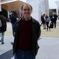 Foto Nicoloro G.   01/05/2015  Milano   Al via l' Expo Milano 2015, l' Esposizione Internazionale che l'Italia ospiterà dal primo Maggio al 31 Ottobre 2015. nella foto il regista e attore Maurizio Nichetti.