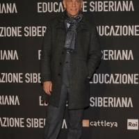 """Foto Nicoloro G. 22/02/2013 Milano Anteprima al cinema Odeon del film """" Educazione siberiana """" alla presenza del regista e degli attori protagonisti. nella foto John Malkovich"""