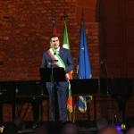 05/09/2020   Ravenna   Apertura delle celebrazioni nazionali per il 700° anniversario della morte del Sommo Poeta alla presenza del Capo dello Stato. nella foto il sindaco di Ravenna Michele de Pascale.