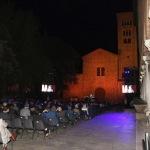 Foto Nicoloro G.   05/09/2020   Ravenna   Apertura delle celebrazioni nazionali per il 700° anniversario della morte del Sommo Poeta alla presenza del Capo dello Stato. nella foto una veduta della piazza durante la serata.