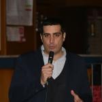 Foto Nicoloro G.   18/01/2020   Ravenna   Campagna elettorale per le elezioni regionali del 26 gennaio in Emilia-Romagna. nella foto il sindaco di Ravenna Michele de Pascale.