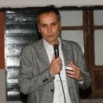 Foto Nicoloro G.   18/01/2020   Ravenna   Campagna elettorale per le elezioni regionali del 26 gennaio in Emilia-Romagna. nella foto il candidato a consigliere regionale PD Andrea Corsini.
