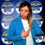 Foto Nicoloro G.   17/01/2020   Ravenna    Campagna elettorale per le votazioni regionali del 26 gennaio in Emilia-Romagna. nella foto la presidente di Fratelli d' Italia Giorgia Meloni.
