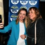 Foto Nicoloro G.   17/01/2020   Ravenna    Campagna elettorale per le votazioni regionali del 26 gennaio in Emilia-Romagna. nella foto la presidente di Fratelli d' Italia Giorgia Meloni nell' ormai immancabile selfie.
