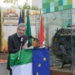 Foto Nicoloro G.   01/10/2020  Conselice ( RA ) Celebrazione del 14° anniversario del Monumento alla Liberta' di Stampa. nella foto l' editorialista del Corriere della Sera Carlo Verdelli.