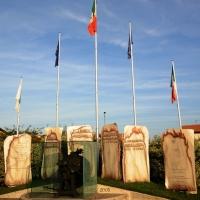 Foto Nicoloro G. 01/10/2012 Conselice ( Ravenna ) Celebrazioni per il sesto anniversario del Monumento alla Stampa Clandestina e alla Libertà di Stampa, secondo in Europa con l' altro che si trova nella città di Almeria in Spagna. nella foto Il monumento