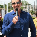 Foto Nicoloro G.   15/05/2021   Ravenna   Celebrazioni per il Moro di Venezia, a 30 anni dal varo, avvenuto il 15/04/1991 e della vittoria del Mondiale IACC. nella foto Paul Cayard, skipper del Moro di Venezia.