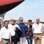 15/05/2021   Ravenna   Celebrazioni per il Moro di Venezia, a 30 anni dal varo, avvenuto il 15/04/1991 e della vittoria del Mondiale IACC. nella foto il gruppo con Paul Cayard, Maria Speranza Gardini e alcuni componenti dello storico equipaggio.