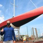 15/05/2021   Ravenna   Celebrazioni per il Moro di Venezia, a 30 anni dal varo, avvenuto il 15/04/1991 e della vittoria del Mondiale IACC. nella foto Paul Cayard, skipper del Moro di Venezia.