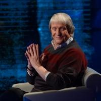 """Foto Nicoloro G.  09/03/2014  Milano   Trasmissione televisiva su Rai 3 """" Che tempo che fa """". nella foto il critico d' arte Flavio Caroli."""