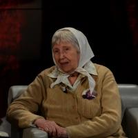 """Foto Nicoloro G.  26/01/2014  Milano   Trasmissione televisiva su Rai 3 """" Che tempo che fa """". nella foto Vera Vigevani Jarach."""