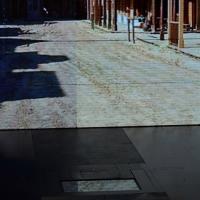 """Foto Nicoloro G.  26/01/2014  Milano   Trasmissione televisiva su Rai 3 """" Che tempo che fa """". nella foto Fabio Fazio e Terence Hill in un divertente siparietto nel quale inscenano un duello."""