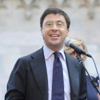 Foto Nicoloro G. 13/05/2011 Milano Chiusura della campagna elettorale del Terzo Polo per le elezioni amministrative 2011. nella foto Italo Bocchino