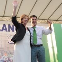 Foto Nicoloro G. 13/05/2011 Milano Chiusura della campagna elettorale della Lega Nord. nella foto Letizia Moratti – Matteo Salvini