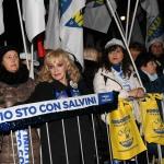 Foto Nicoloro G.   24/01/2020   Ravenna    Chiusura della campagna elettorale per le regionali dell' Emilia-Romagna. nella foto alcune simpatizzanti.