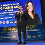 Foto Nicoloro G.   24/01/2020   Ravenna    Chiusura della campagna elettorale per le regionali dell' Emilia-Romagna. nella foto il deputato della Lega Jacopo Morrone.