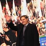 Foto Nicoloro G.   24/01/2020   Ravenna    Chiusura della campagna elettorale per le regionali dell' Emilia-Romagna. nella foto il governatore della Liguria Giovanni Toti.
