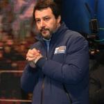 Foto Nicoloro G.   24/01/2020   Ravenna    Chiusura della campagna elettorale per le regionali dell' Emilia-Romagna. nella foto Matteo Salvini.