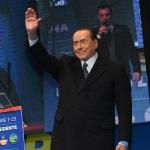 Foto Nicoloro G.   24/01/2020   Ravenna    Chiusura della campagna elettorale per le regionali dell' Emilia-Romagna. nella foto Silvio Berlusconi.