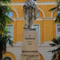 Foto Nicoloro G.  02/06/2014  Ravenna    Nella giornata della Festa della Repubblica si è svolta la commemorazione dell' anniversario della morte di Giuseppe Garibaldi, avvenuta a Caprera proprio il 2 giugno 1882. nella foto il monumento all' Eroe dei due Mondi.