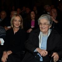 Foto Nicoloro G.  5/11/2015   Ravenna   Commemorazione del leader democristiano Benigno Zaccagnini a 25 anni dalla sua scomparsa. nella foto Livia e Anna Zaccagnini, rispettivamente figlia e moglie del leader scomparso.