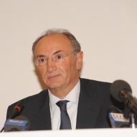 Foto Nicoloro G. Milano 01/10/2010 Conferenza stampa di presentazione del nuovo amministratore delegato di Unicredit. nella foto Federico Ghizzoni