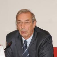 Foto Nicoloro G. Milano 01/10/2010 Conferenza stampa di presentazione del nuovo amministratore delegato di Unicredit. nella foto Dieter Rampl, presidente Unicredit