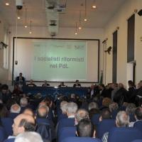 """Foto Nicoloro G. 19/11/2011 Milano Convegno al Palazzo delle Stelline dal titolo """" I socialisti riformisti nel PdL """". nella foto La sala del Convegno"""