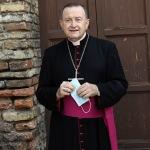 Foto Nicoloro G.   12/09/2021   Ravenna   Questa giornata segna il culmine delle celebrazioni dei 700 anni dalla morte di Dante. nella foto l' arcivescovo Lorenzo Ghizzoni.